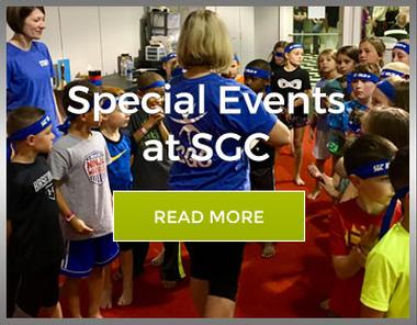 Graphic link for Events page for Springfield Gymnastics